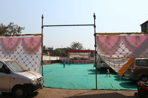 Holi Maidan - where the community have their own festivals and celebrations