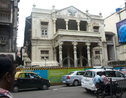 "Parsi fire temple on JSS Road - in the ""Black City"""