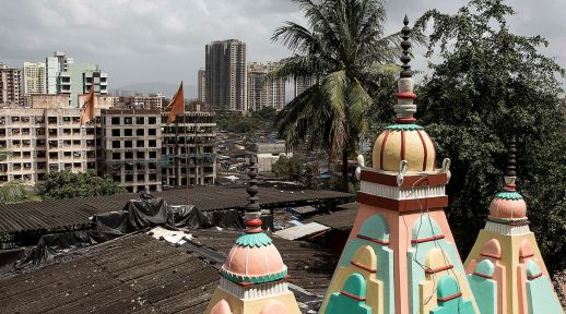 Roofs in Mumbai.