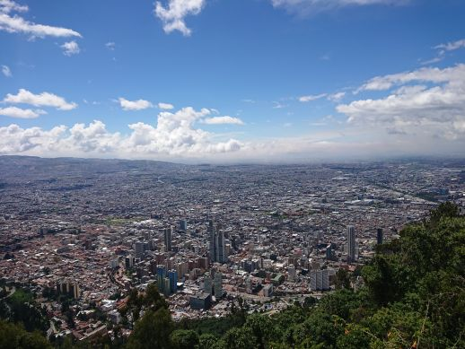 View from Cerro Monserrat