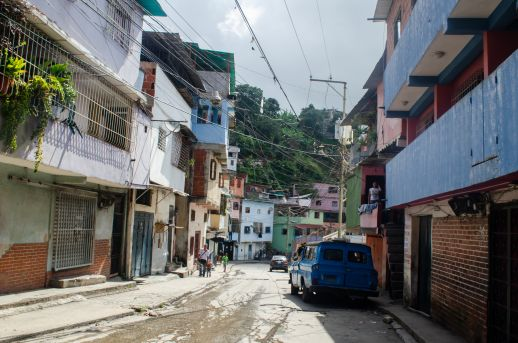 Street view in the San Blas barrio, Photograph by Stephanie Marcelot.