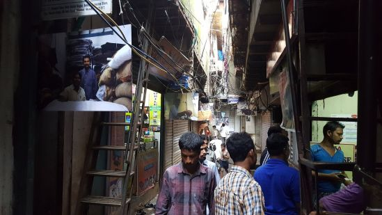 Bareilly street, Social Nagar, Dharavi – with photos from urbz's street exhibition last September.